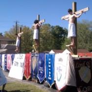 3 Wooden Crosses